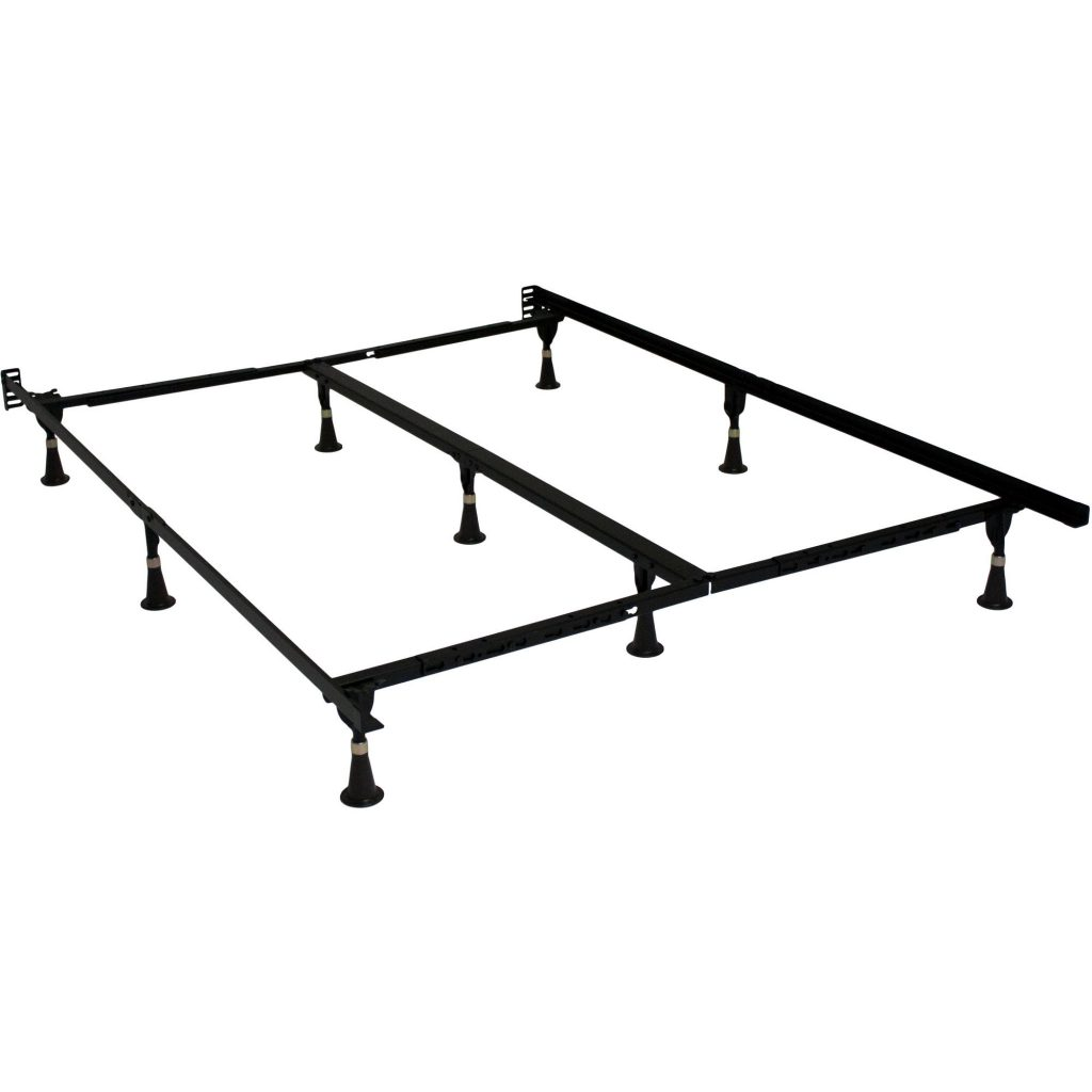 cheap queen size bed frame for headboard and footboard