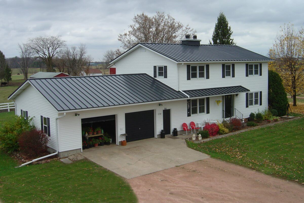 cheap standing seam metal roof 2-12 pitch
