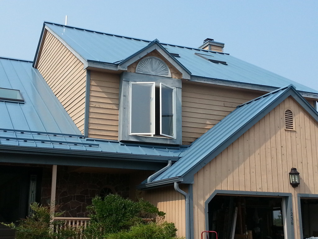cheap standing seam metal roof average cost per square foot