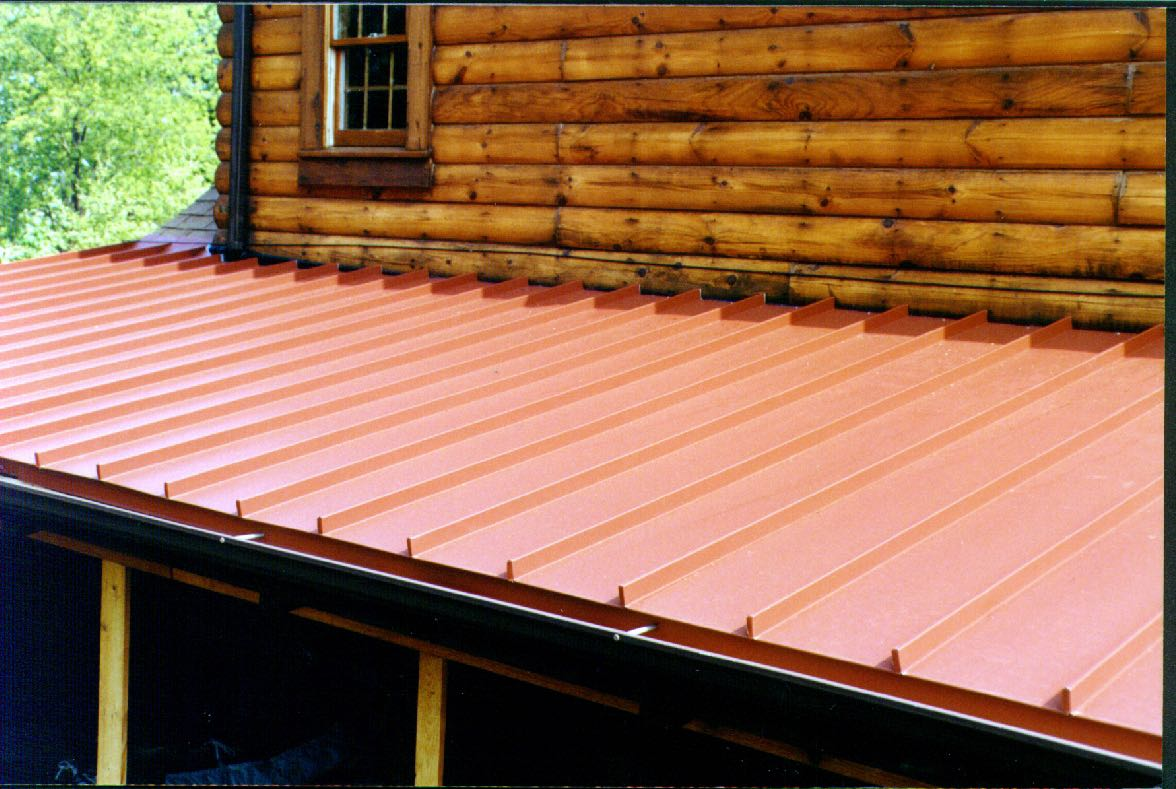 cheap standing seam metal roof cost uk