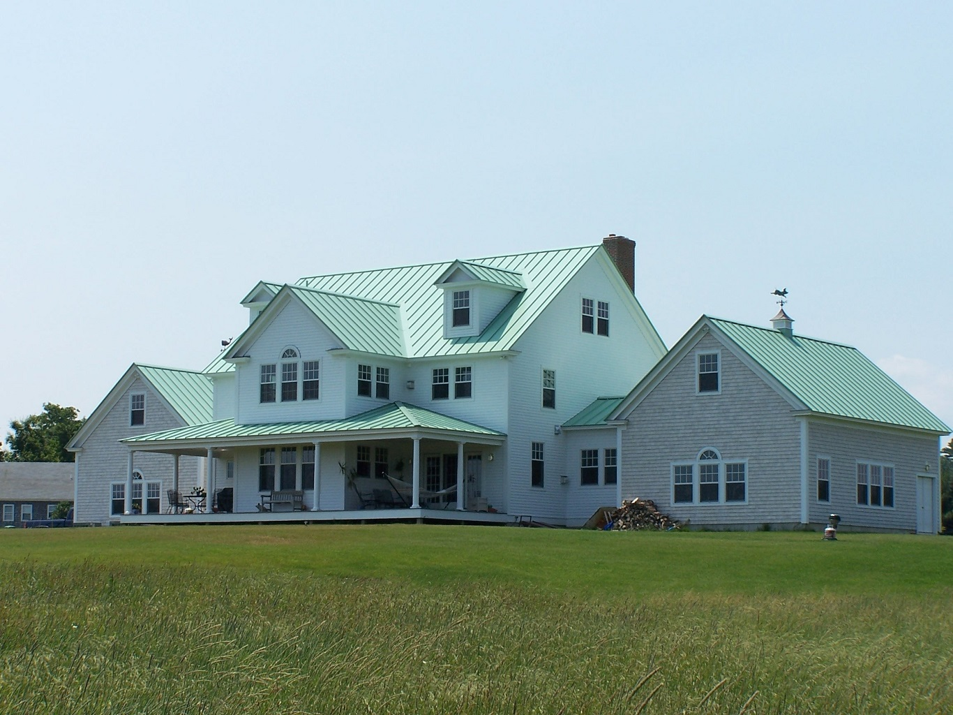 cheap standing seam metal roof cost