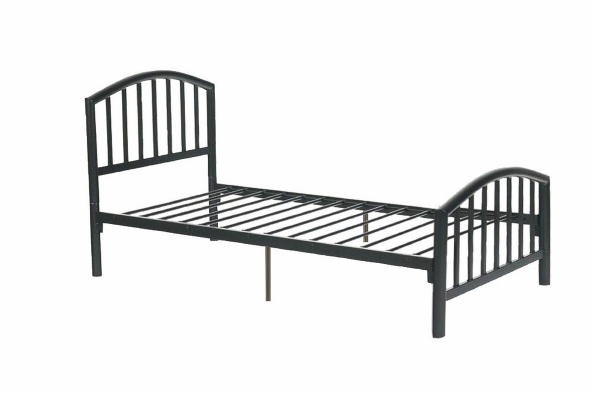 cheap twin metal bed frame sears