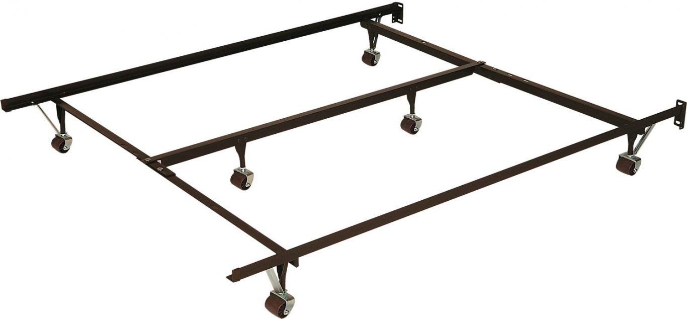 cheap twin metal bed frame wheels