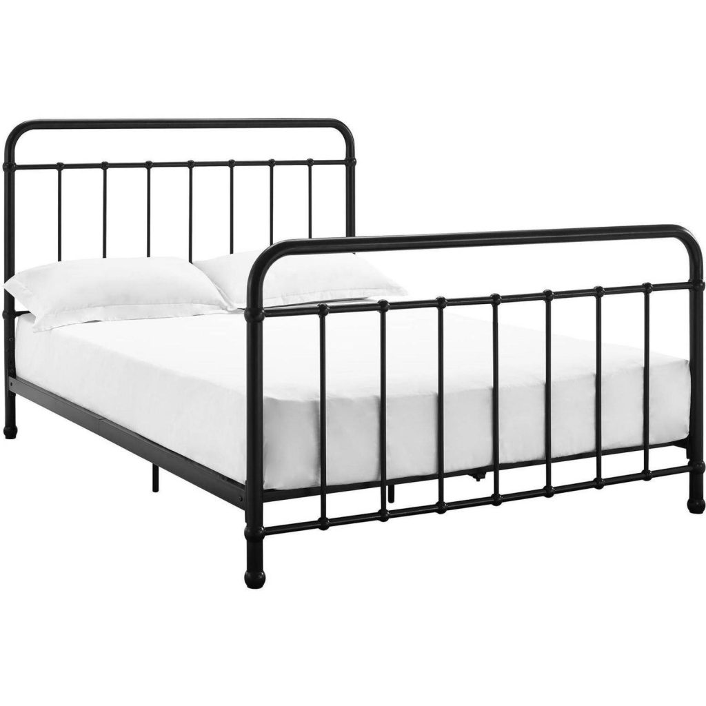 cheap twin metal bed frame with springs