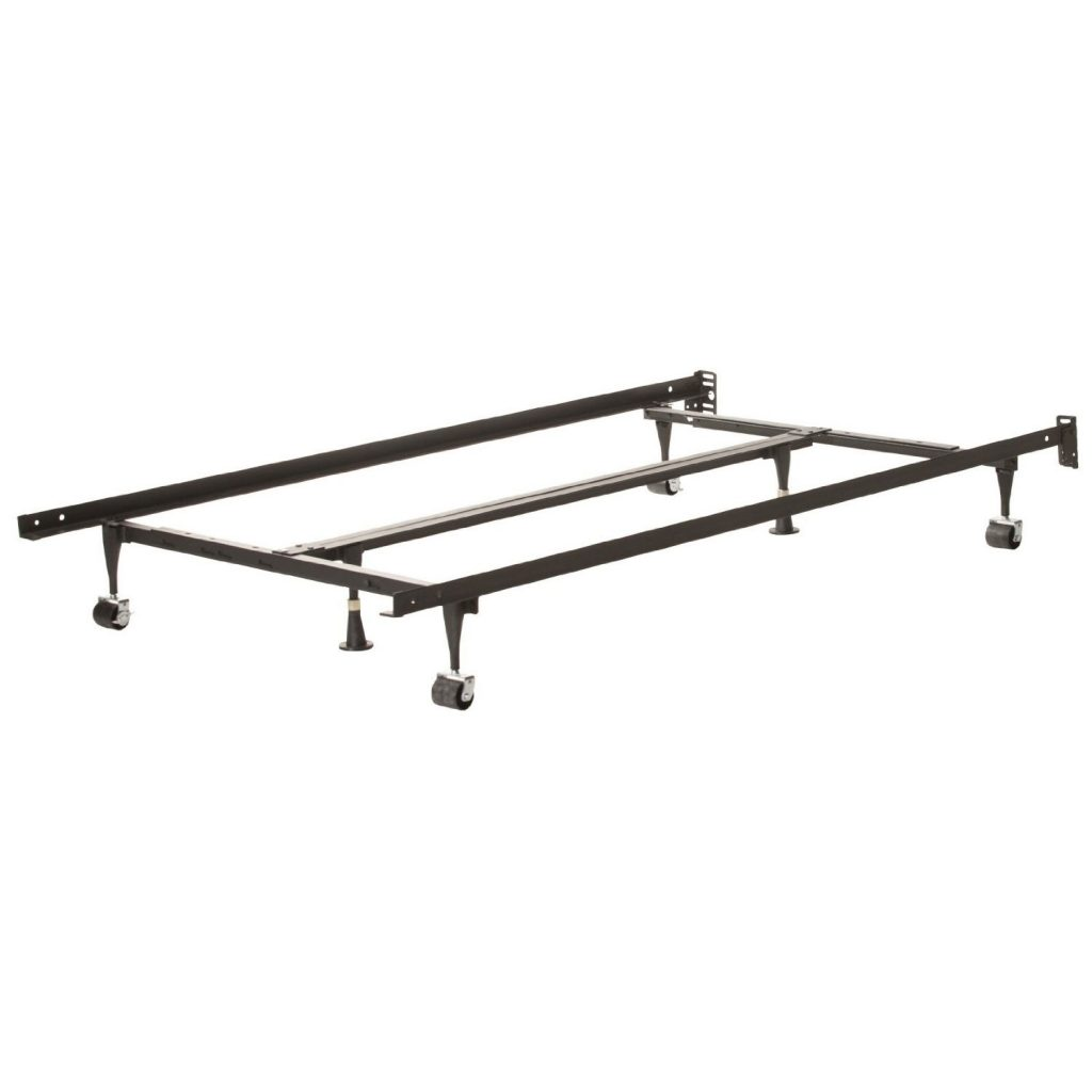cheap twin metal platform bed frame