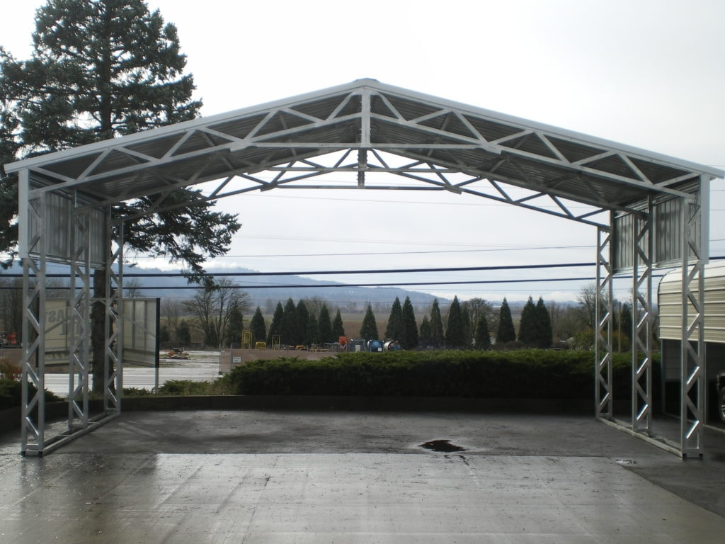 cheap clear clear span steel buildings for sale