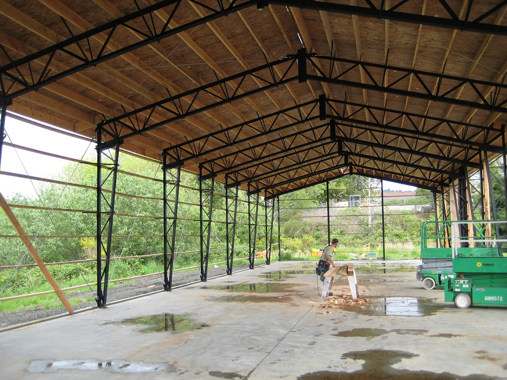 cheap clear span steel buildings for sale