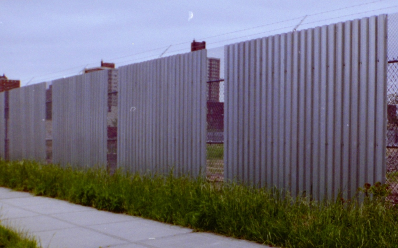 cheap corrugated metal privacy fence cost