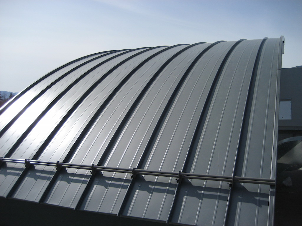 Cheap Corrugated Metal Roofing Curved