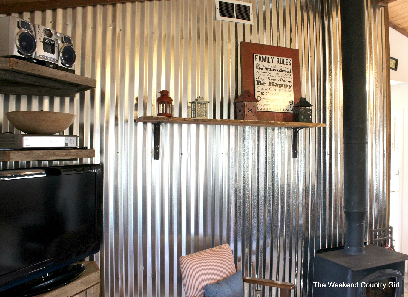 cheap corrugated metal used interior wall