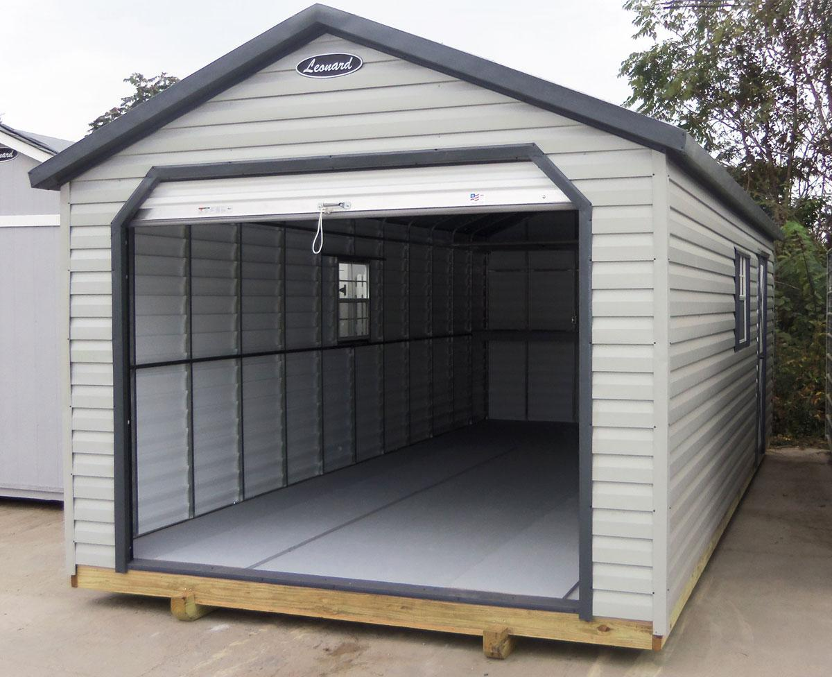 cheap corrugated steel shed kits