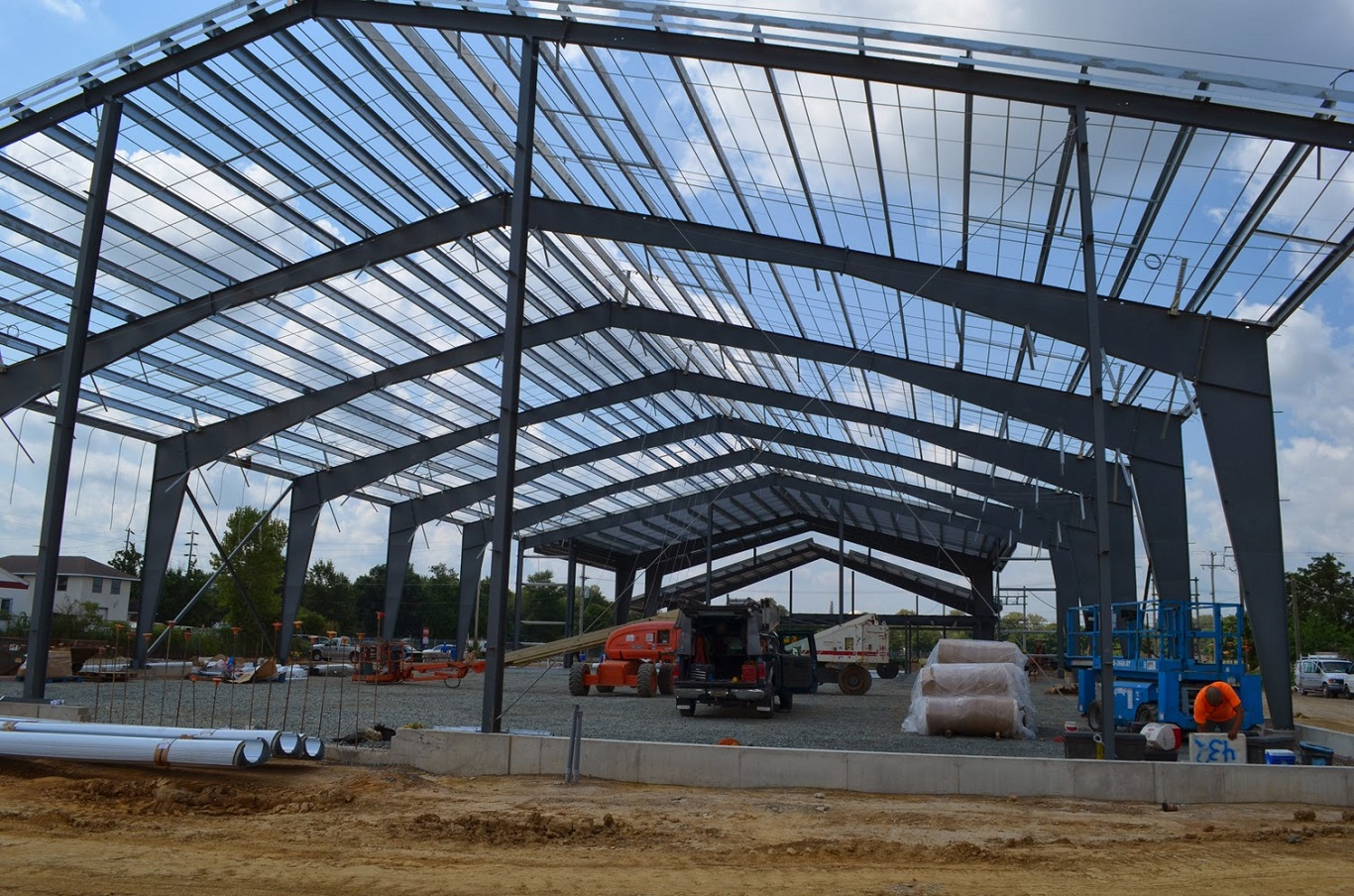 cheap cost of steel framed agricultural buildings