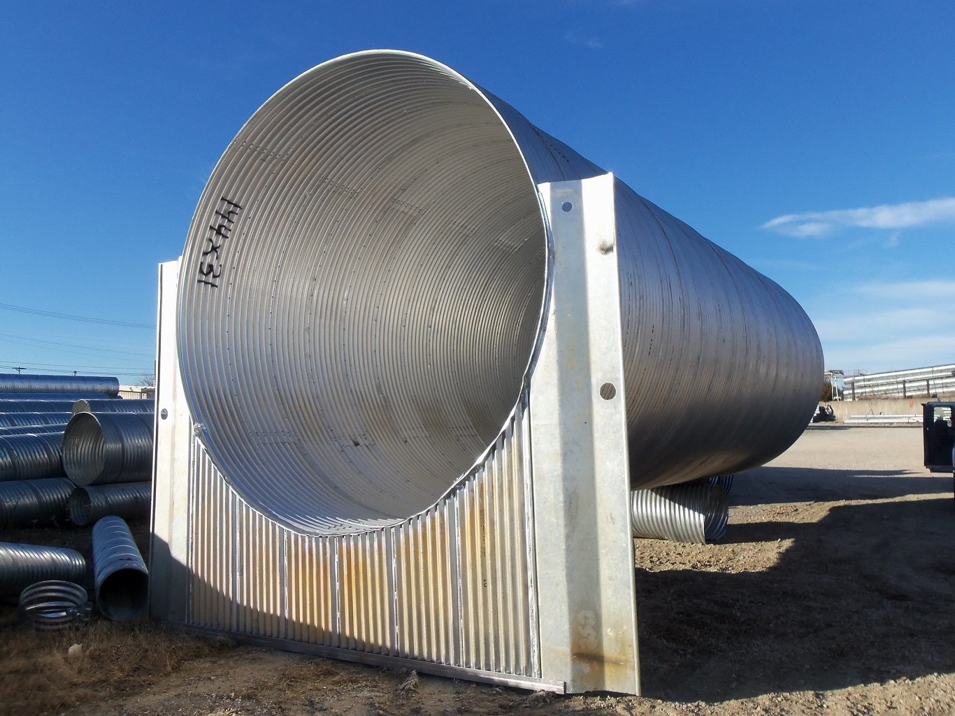 Corrugated Metal Pipe Sizes Chart