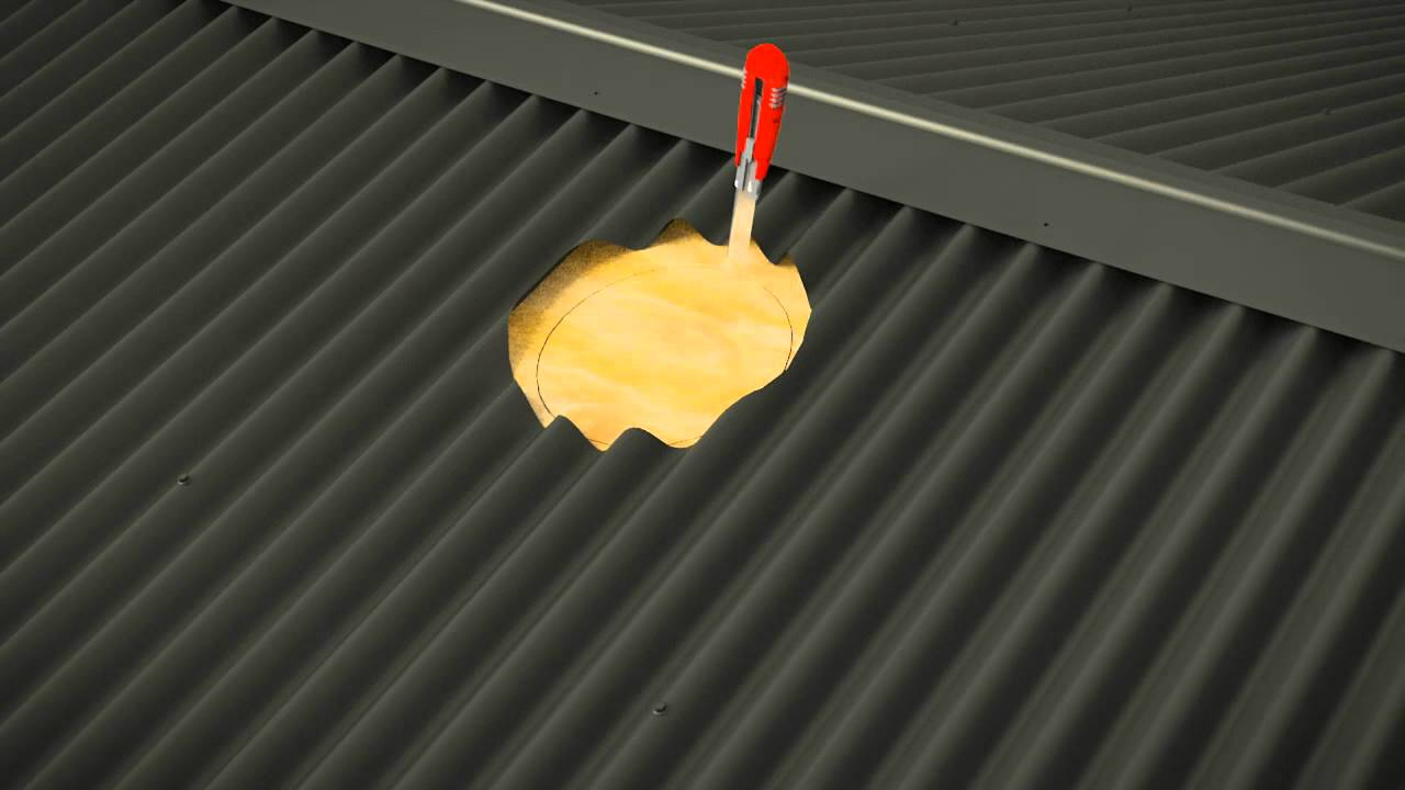 how to cut corrugated metal roofing sheets