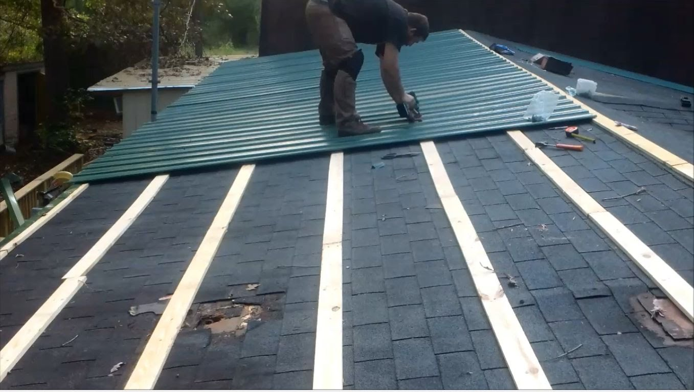 how to install metal roof drip edge on a budget