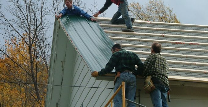 how to install metal roof edging on a budget