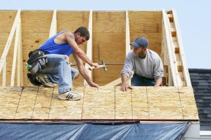 how to put a metal roof on a new house on a budget