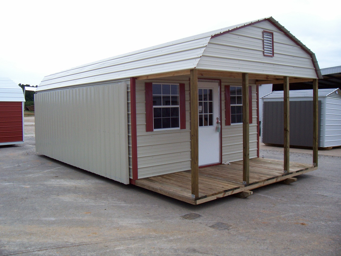 cheap large metal storage sheds for sale