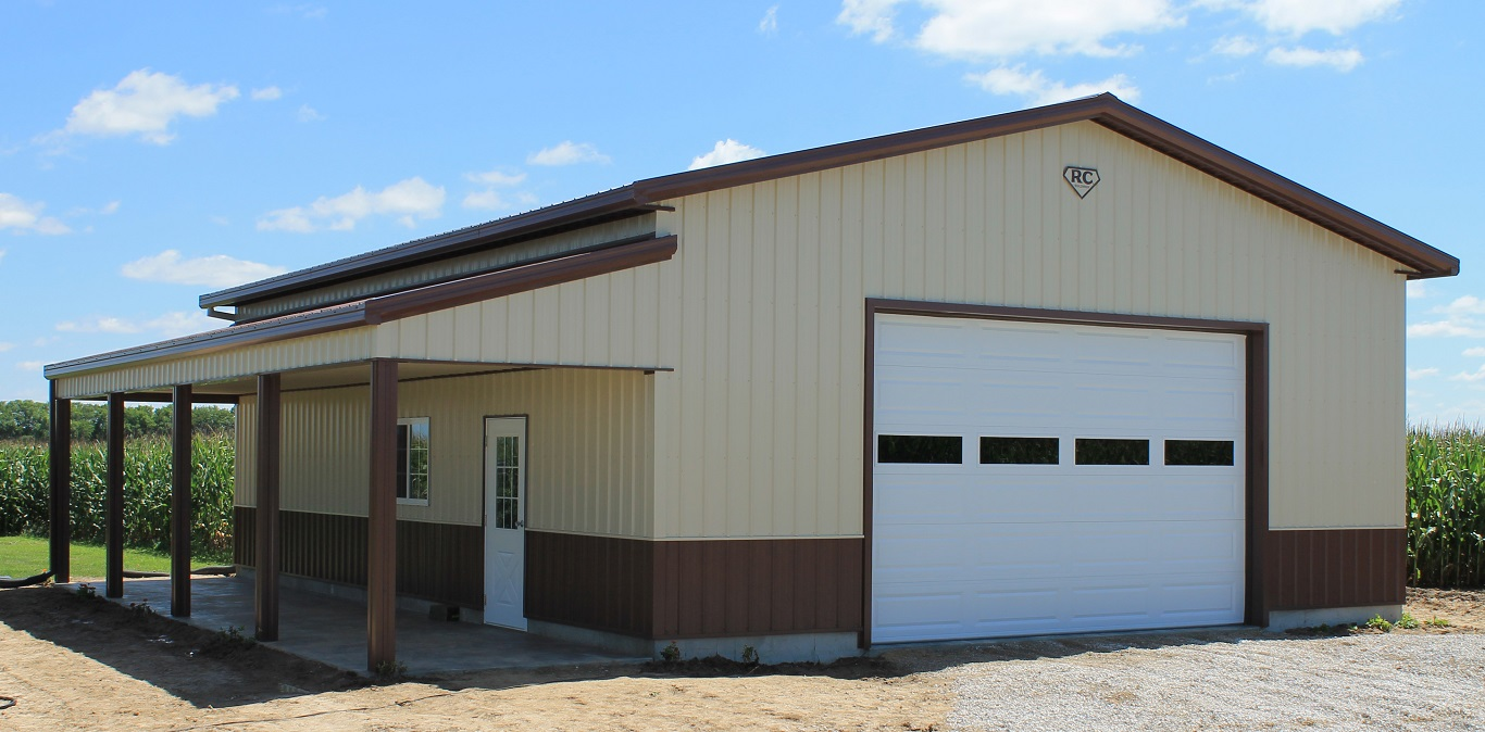 cheap metal barn kits california