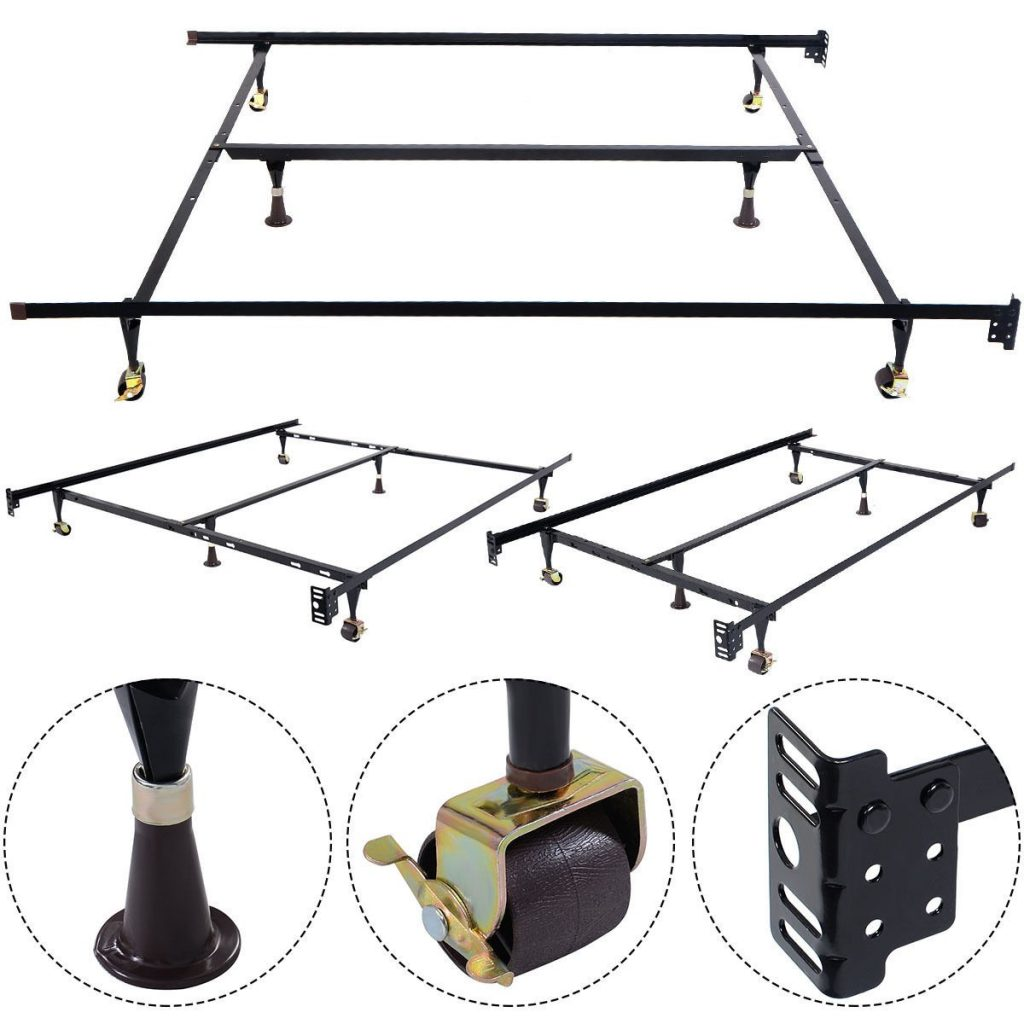 cheap metal bed frame cover