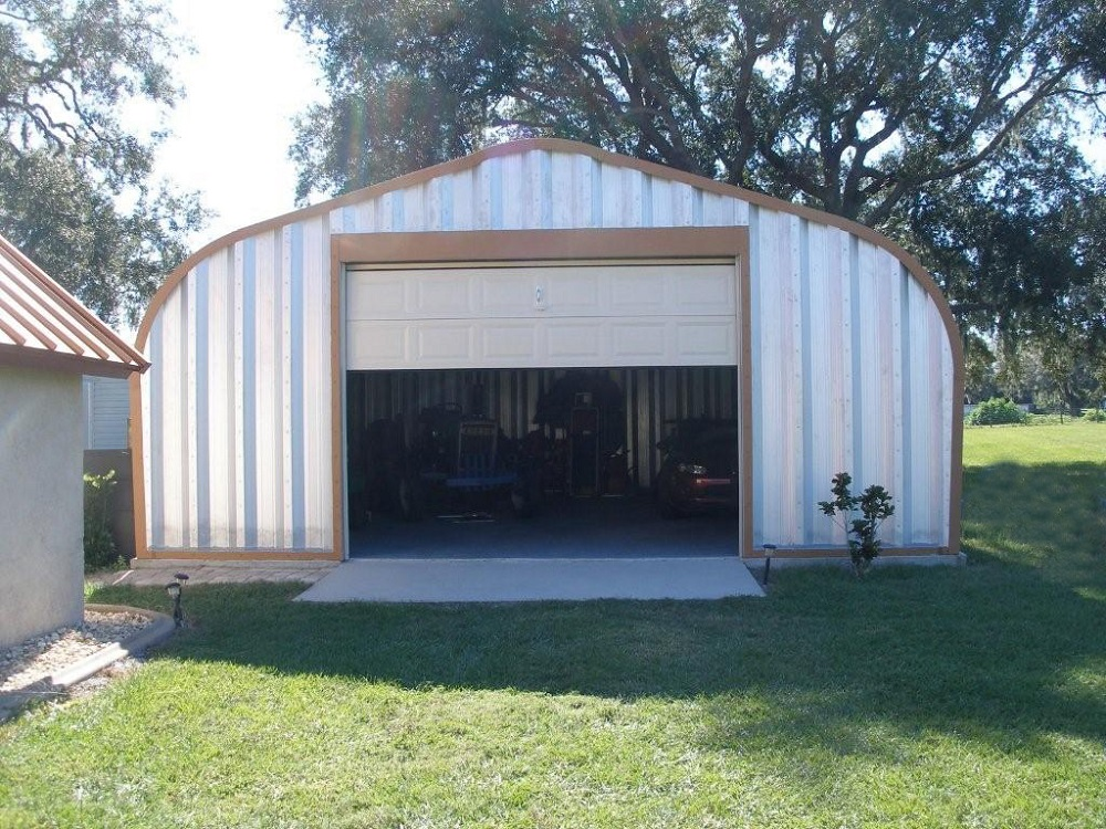 cheap metal building kits cost