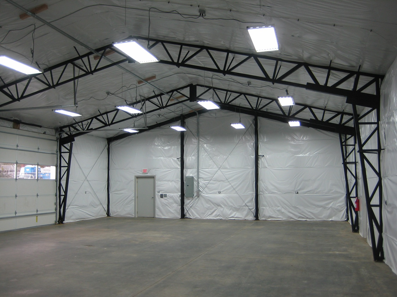 cheap open clear span metal buildings