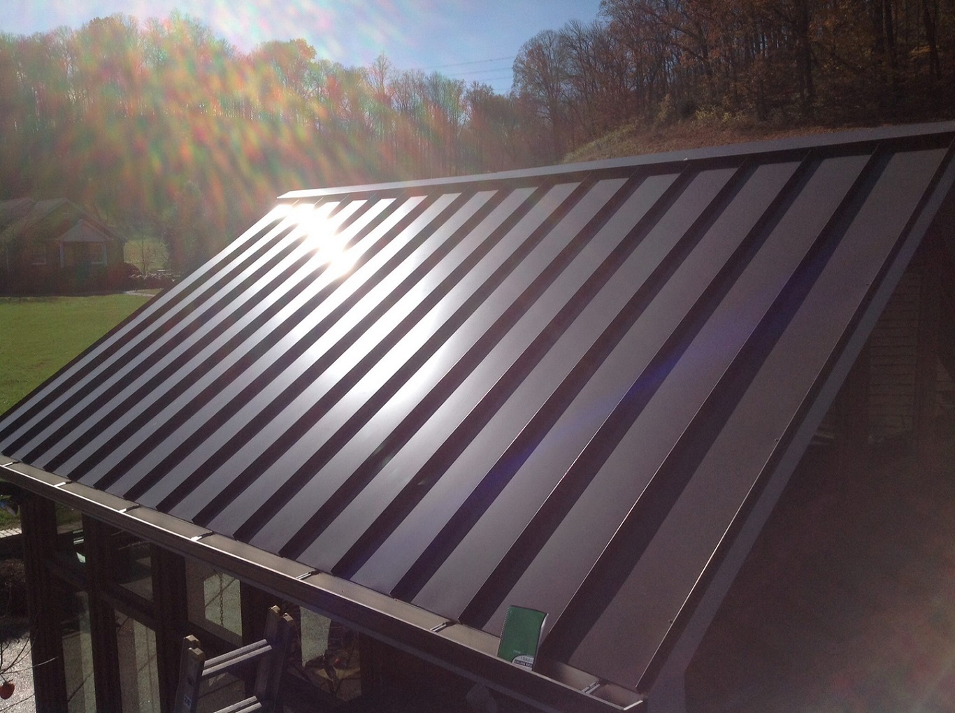 cheap standing seam metal roof assembly