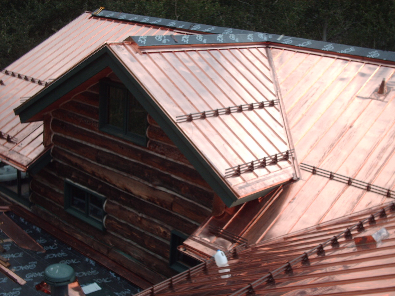 cheap standing seam metal roof burnished slate