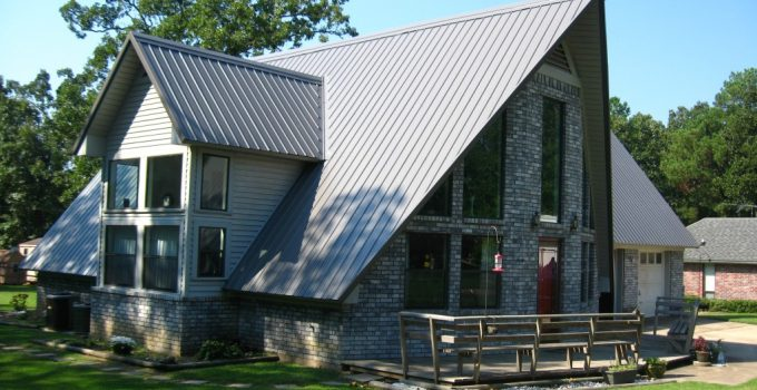 cheap standing seam metal roof how to install
