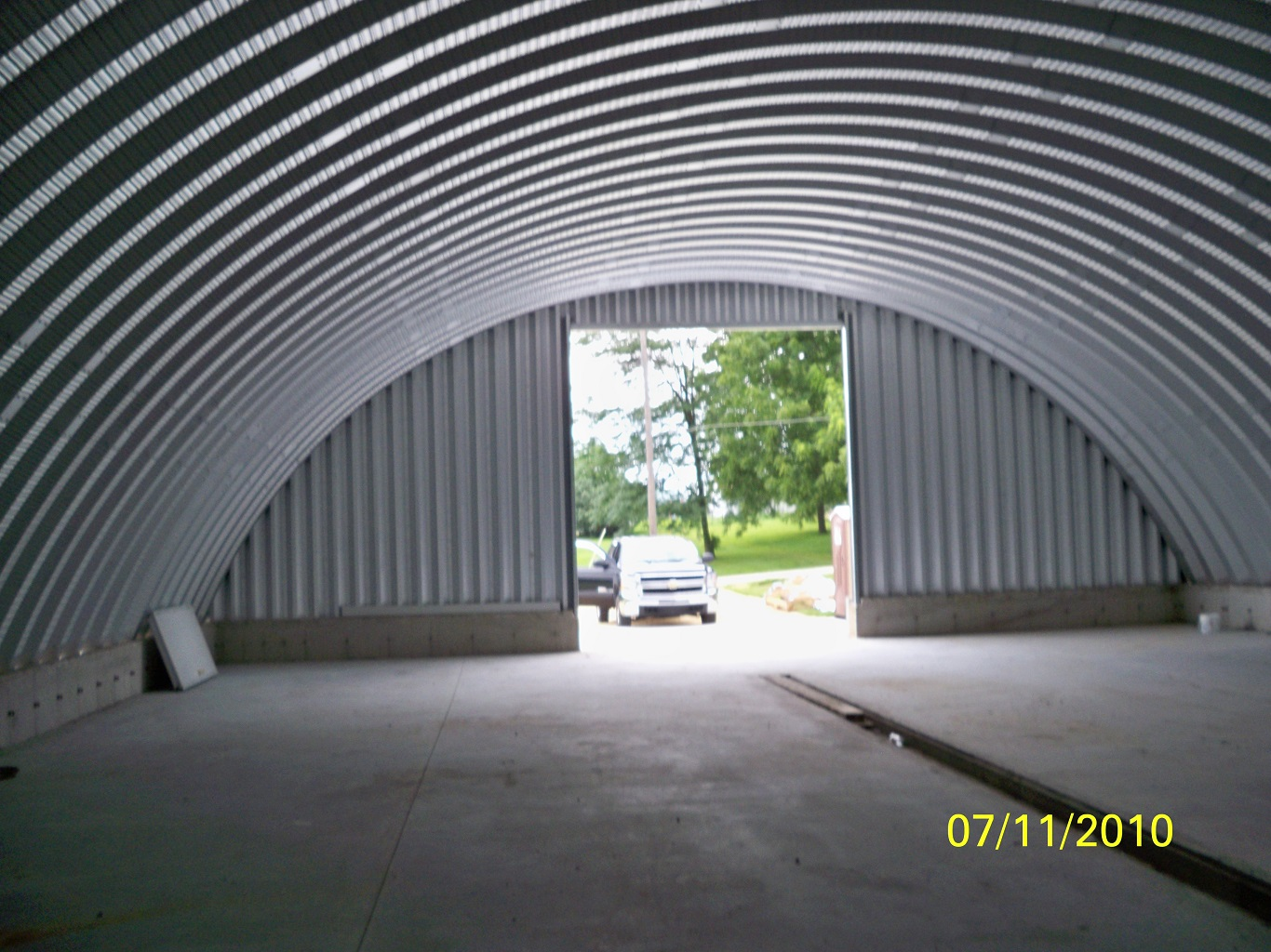 cheap steel clear span building cost
