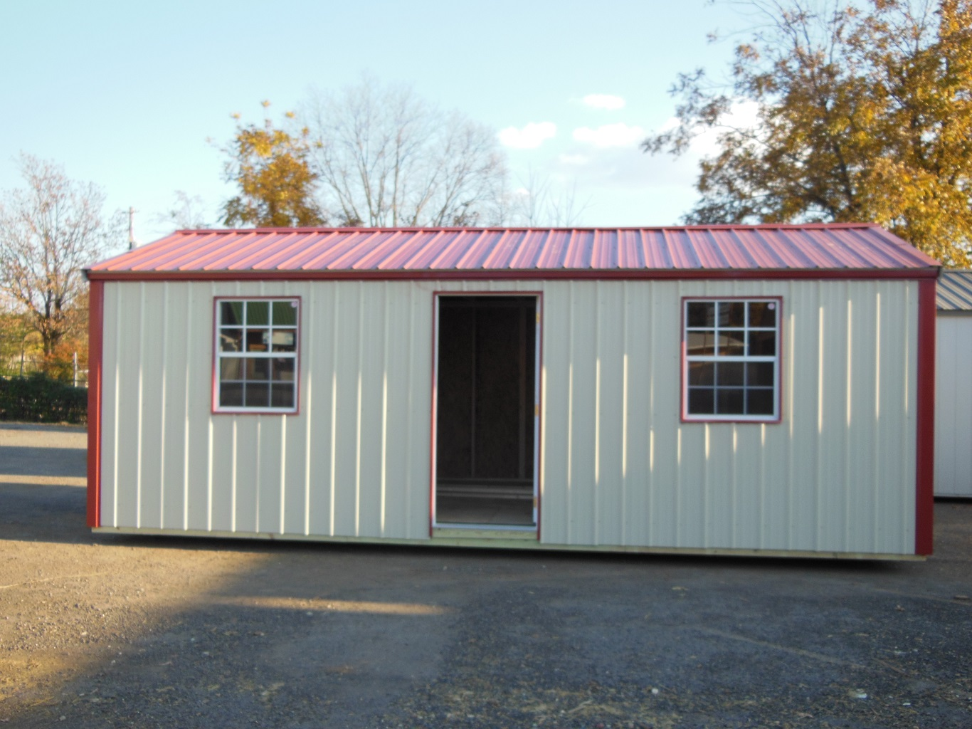cheap steel metal storage building prices