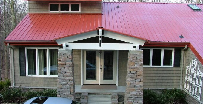 cheap metal roof house color combinations ona budget