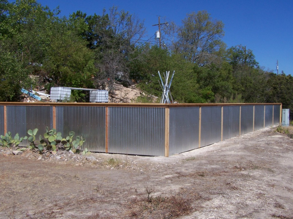 cheap corrugated metal fence panels canada