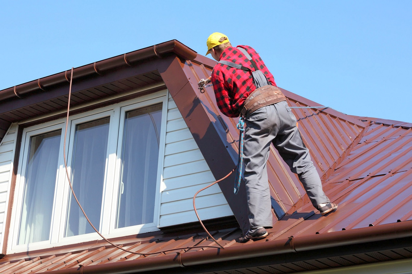 cheap fabral metal roofing application