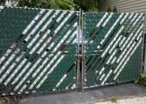 cheap lowes metal fence door