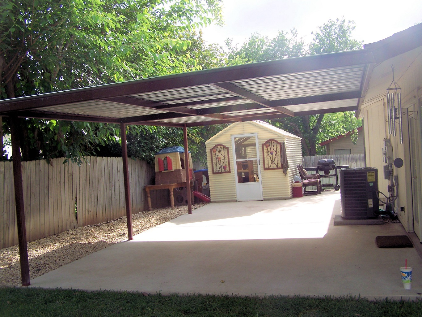 cheap metal carport parts and accessories