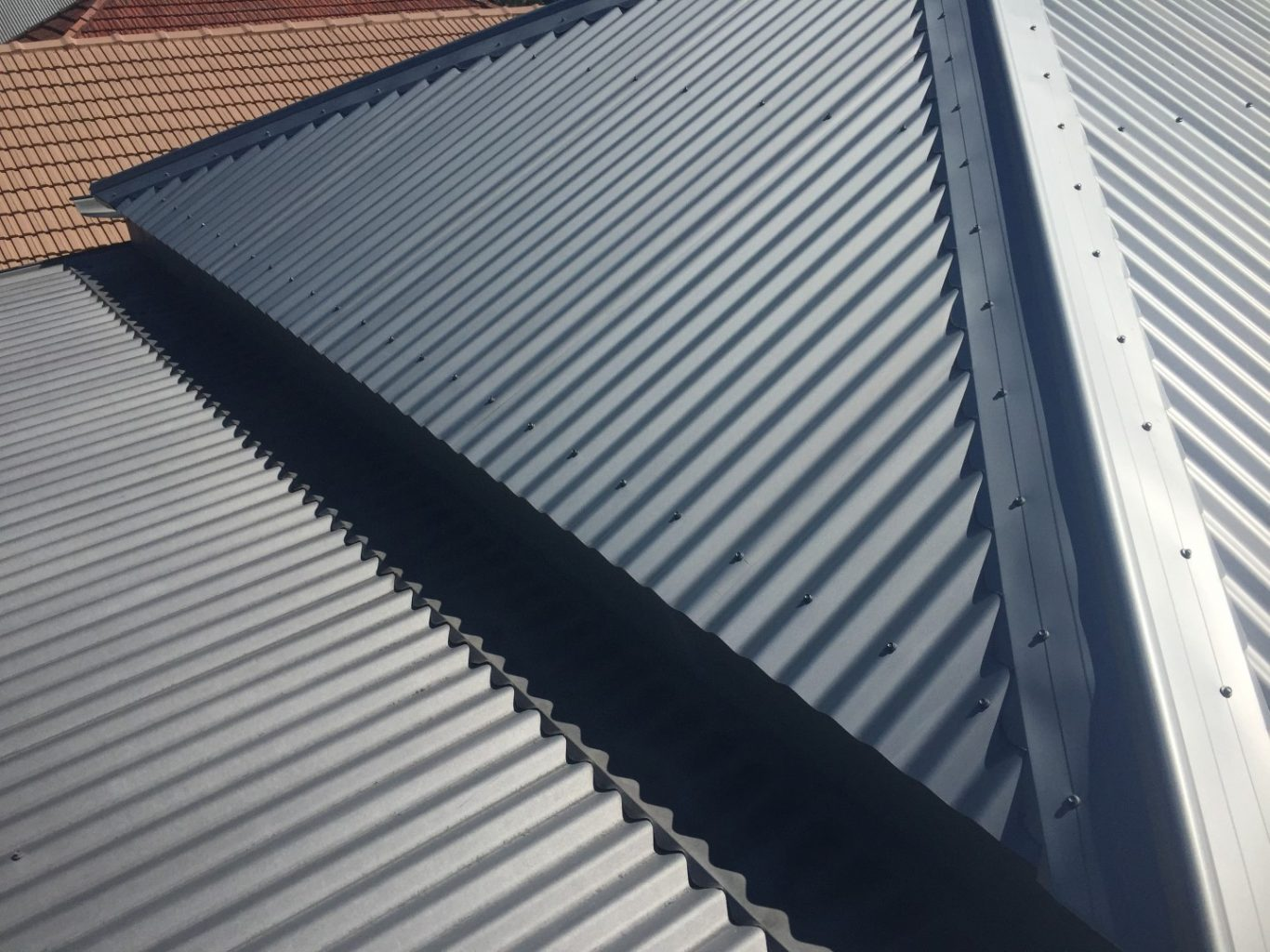 cheap metal roof options florida