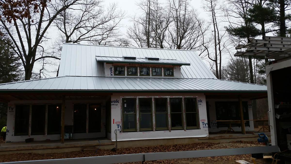 cheap union residential metal roofing
