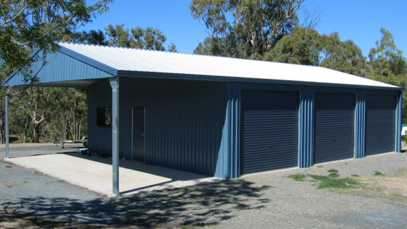 cheap used metal building kits for sale